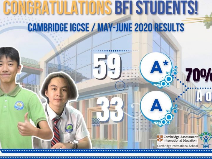Cambridge IGCSE/May- June 2020 Results