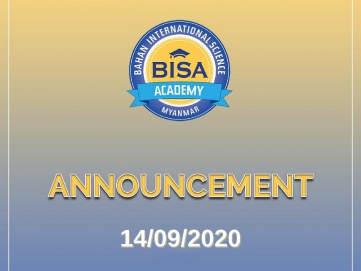 BISA CAMPUS CLOSED FROM TUESDAY 15 SEPTEMBER